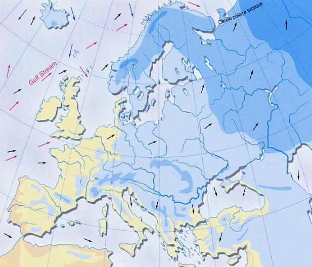 Meteo Europe Carte Temperature.Carte De La Temperature En Janvier En Europe Www Alertes