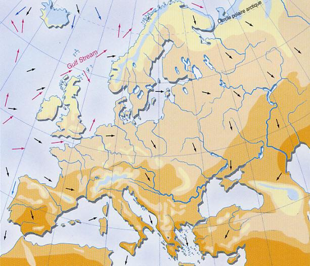 Meteo Europe Carte Temperature.Carte De La Temperature En Juillet En Europe Www Alertes